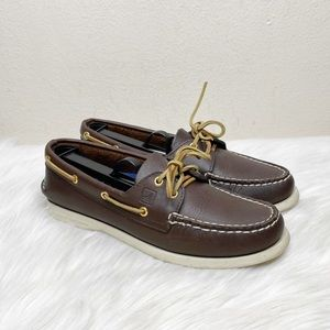 Sperry Authentic Original 2-Eye Brown Boat Shoes